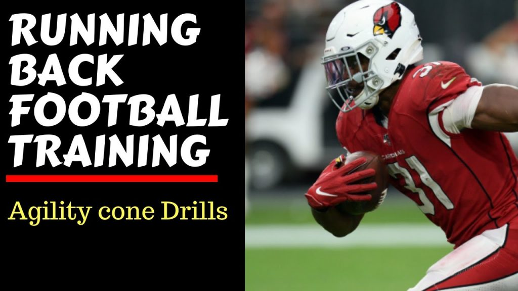 Quick Football Agility Cone Drill
