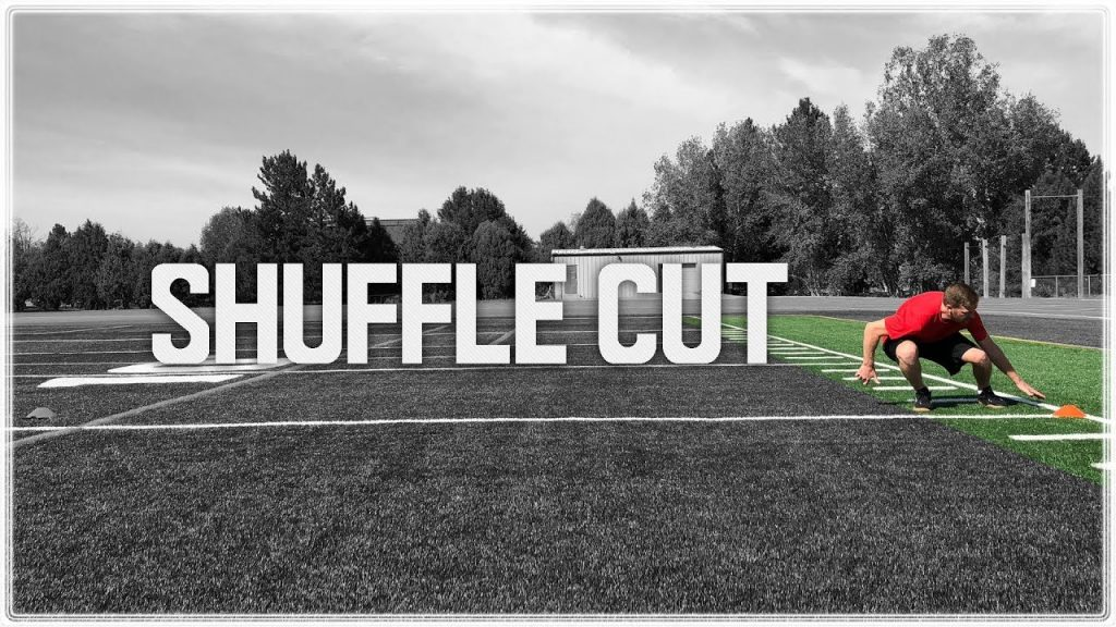 Lateral 'Shuffle' Cut | Lateral Step & Agility Cone Drill