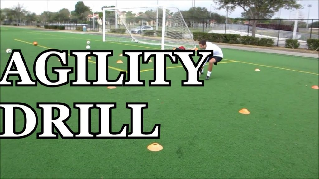 Goalkeeper Training: Agility Drill