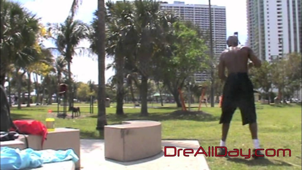 Dre Baldwin: Bench Double-Hop, 180º Jump-Catch Pt. 2 | Agility Quickness Vertical Drill NBA Fit
