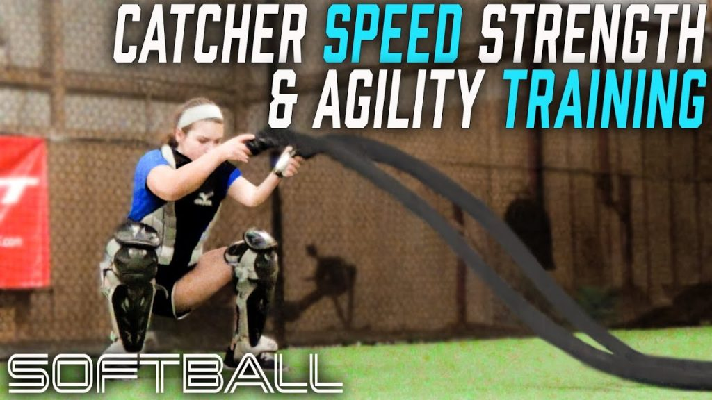 Softbll Strong Catcher Training speed strength agility