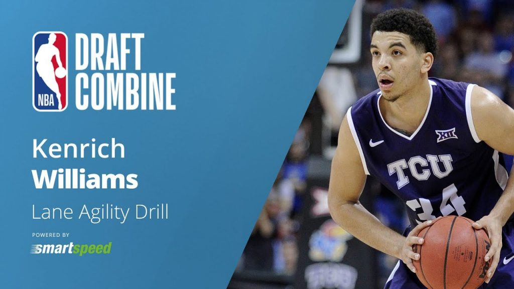 Kenrich Williams | Lane Agility Drill | 2018 NBA Draft Combine