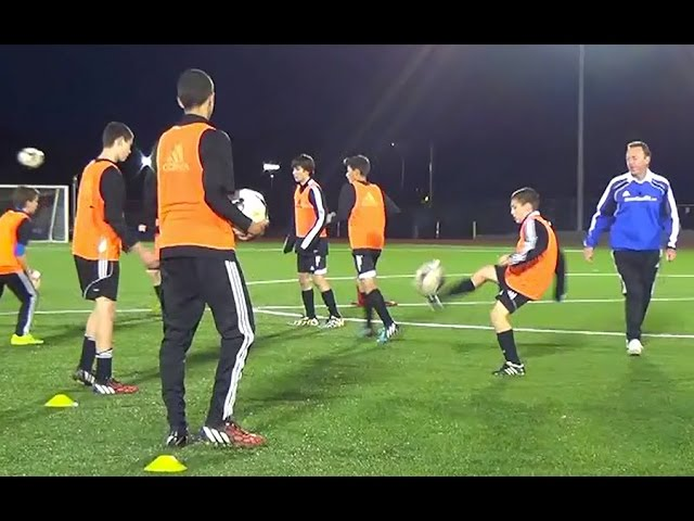 Skill and Agility Warm Up
