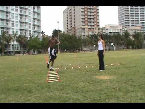 Dre Baldwin: Speed Ladder Agility Combo Pt. 4 | Footwork Quickness NBA