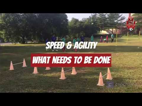 Football Agility & Speed Exercises Drills by Momentum Soccer Academy Kids