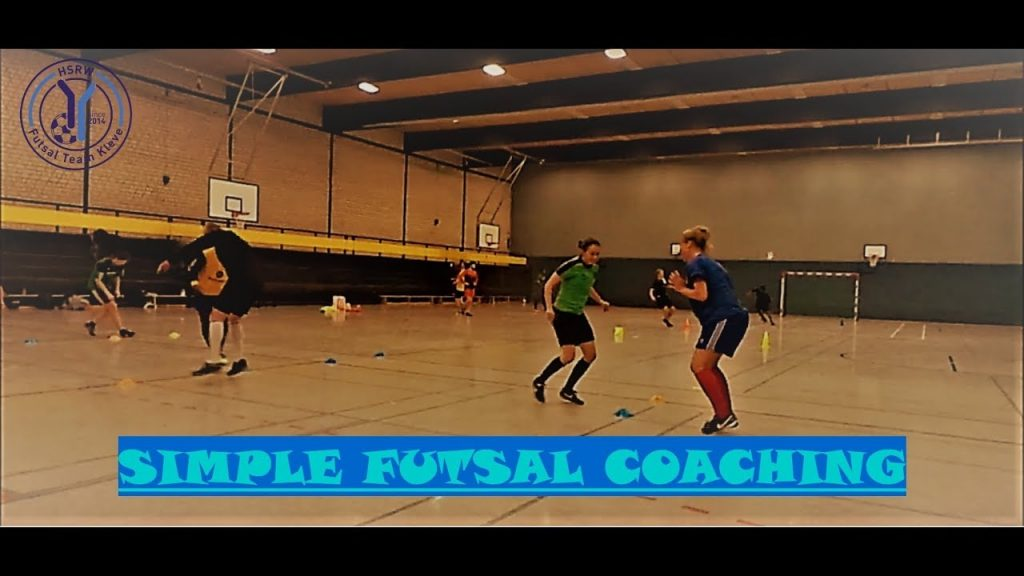 🔥⚽🏃‍♂#Simple #Futsal #Coaching: Agility, Stamina, Short Sprints and Goalie Training