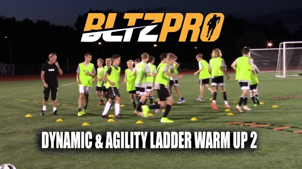 BltzPro – Dynamic and Agility Ladder Warm Up 2