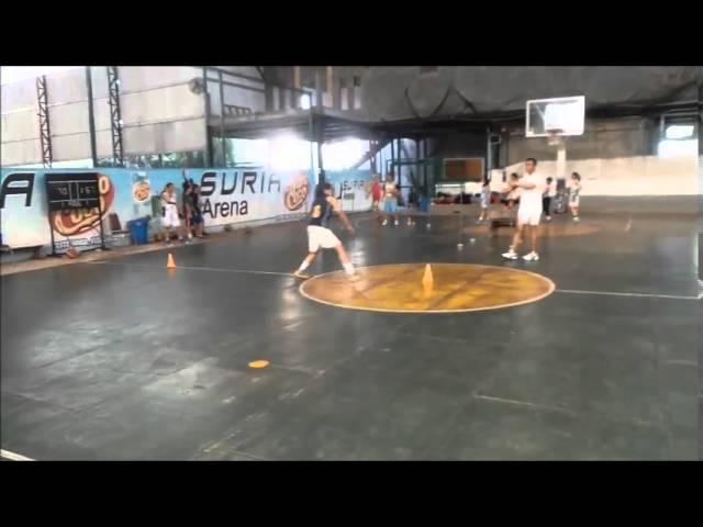 Latihan Bola Basket Pengukuran Agility dengan T-test