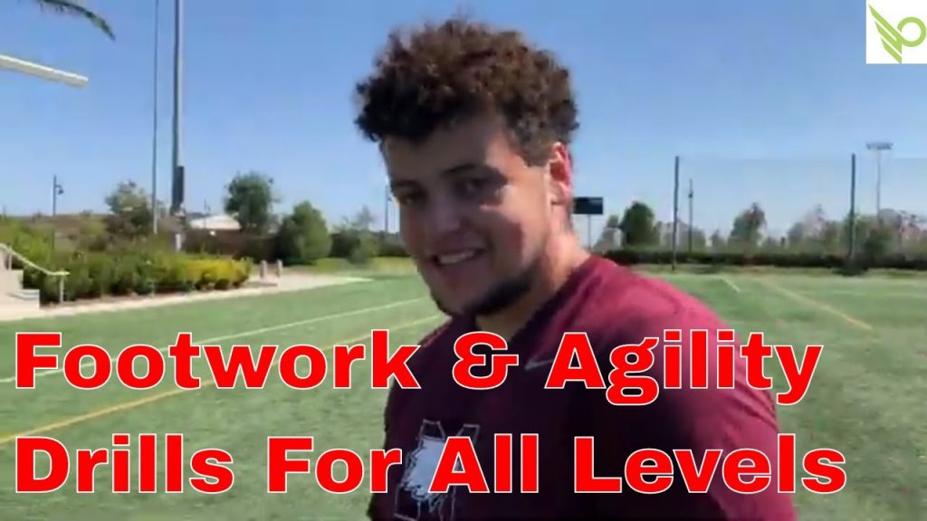 Amazing Footwork and Agility Drills For Football Athletes | Coach John Walker | PLAYMAKER NETWORK