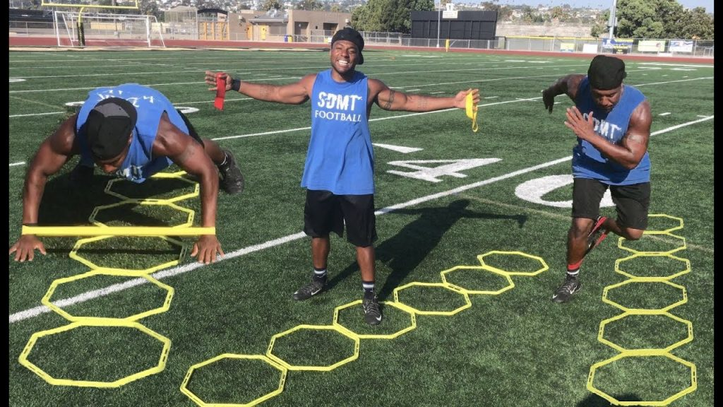 BEST ATHLETE AGILITY  TRAINING WITH BANDS!!!