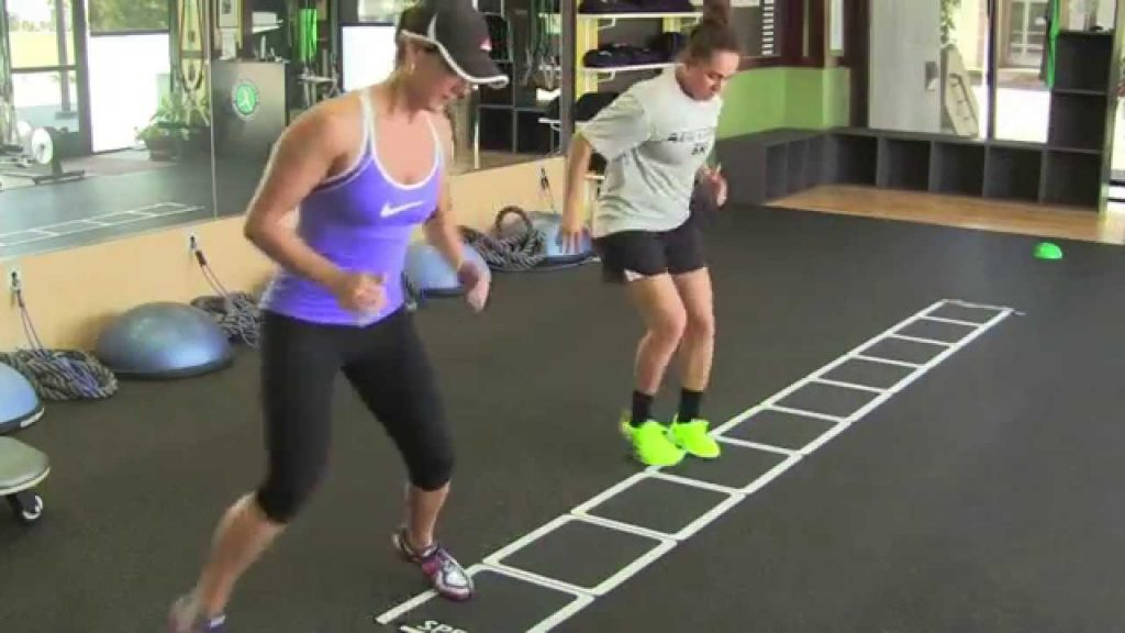 Agility Ladder Drills For Faster Footwork