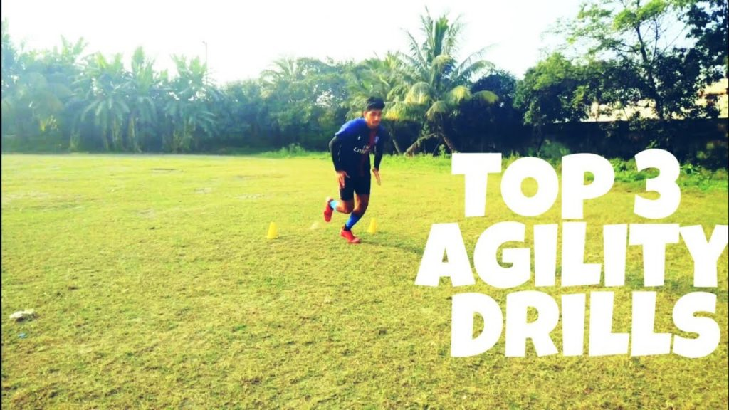 How to change direction faster in football/soccer. Top 3 Soccer Agility drills. Agility drills