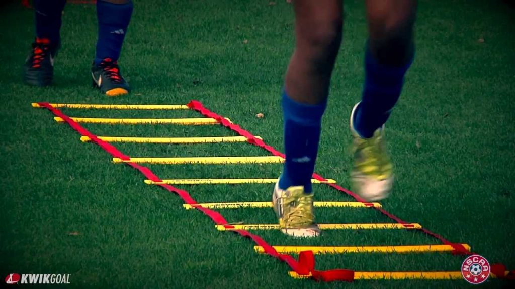 Agility Ladder Drills: NSCAA Technical Training Series Presented by Kwik Goal