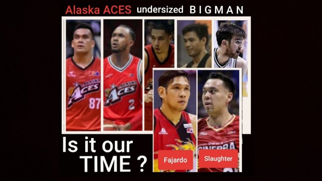 Alaska Aces Bigman Might Not Be that Tall / Agility and Steadiness is the Advantage.