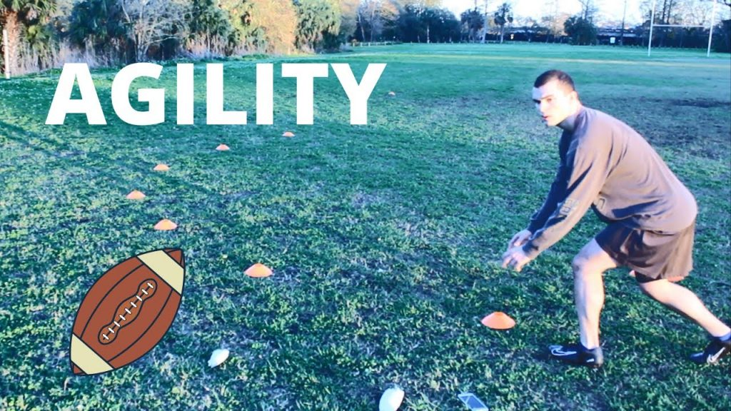 AGILITY WORKOUT FOR FOOTBALL, especially wide receveivers  (MY TRAINING VLOG, week 1, workout 1)